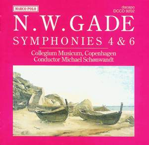 Niels Gade: Symphonies 4 & 6 Product Image