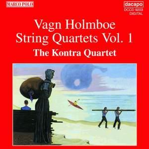 Vagn Holmboe: String Quartets Nos. 1, 3 & 4