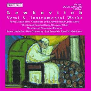 Lewkovitch: Vocal & Instrumental Works Product Image