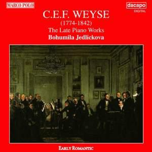 WEYSE: Late Piano Works