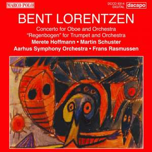 Bent Lorentzen: Concerto for Oboe and Orchestra Product Image