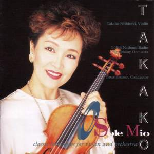 O Sole Mio - Classic Love Songs for Violin and Orchestra (Nishizaki, Polish National Radio Symphony, Breiner) Product Image