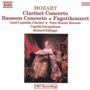 Mozart: Clarinet and Bassoon Concertos Product Image