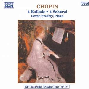 Chopin: Ballads and Scherzi Product Image
