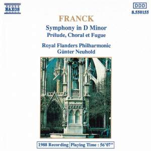 Franck: Symphony in D minor Product Image