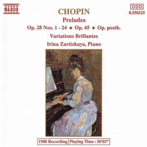 Chopin: Preludes & Variations brilliante Product Image