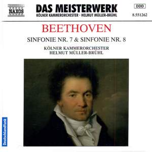 Beethoven: Symphonies Nos. 7 and 8 Product Image