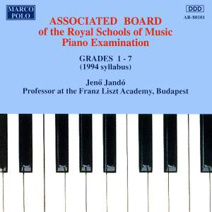Piano Music For Students: Associated Board Piano Examination, Grades 1-7
