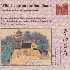 Wild Geese on the Sandbank Product Image