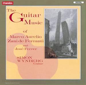 The Guitar Music of Zani de Ferranti and Ferrer