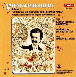 Vienna Premiere, Vol. 2: First Ever Recordings of Works by the Strauss Family