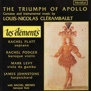 The Triumph of Apollo: Cantatas & instrumental music by Louis-Nicolas Clérambault Product Image