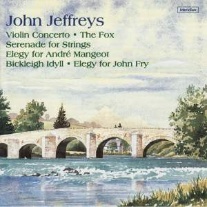John Jeffreys: Violin Concerto, The Fox & other works