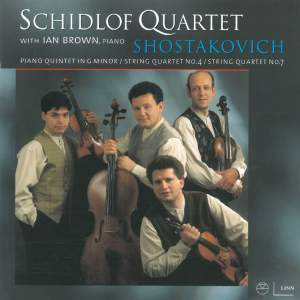 Shostakovich: String Quartet No. 7 in F sharp minor, Op. 108, etc. Product Image