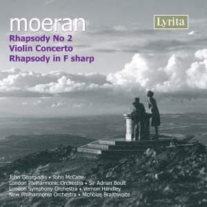 Moeran: Rhapsody No. 2 (1924 rev.1941), etc.