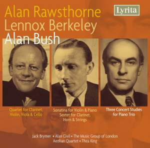 Rawsthorne, Berkeley & Bush: Chamber Music