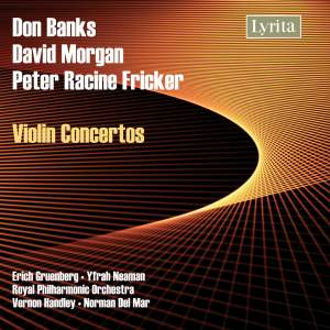 Fricker, Morgan & Banks - Violin Concertos