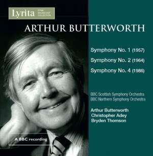 A. Butterworth: Symphonies Nos. 1, 2 & 4