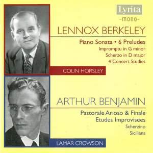 Berkeley & Benjamin - Piano Music
