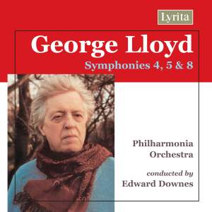 George Lloyd - Symphonies Nos. 4, 5 & 8 Product Image