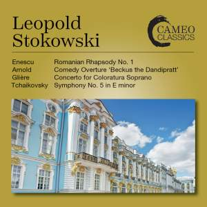 Leopold Stokowski Conducts Recordings from 1954 & 1973