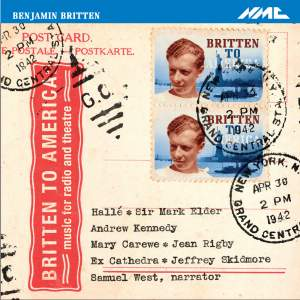 BRITTEN, B.: Ascent of F6 (The) / An American in England / On the Frontier (Skidmore, Elder)