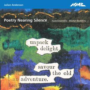 Julian Anderson: Poetry Nearing Silence Product Image