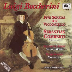 Luigi Boccherini - Five Sonatas for Violoncello Product Image
