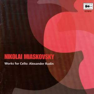 Nikolai Miaskovsky - Works for Cello
