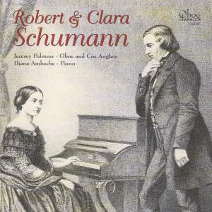 Robert & Clara Schumann: Music for Oboe and Cor Anglais