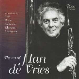 The Art of Han de Vries - Oboe Concertos Product Image