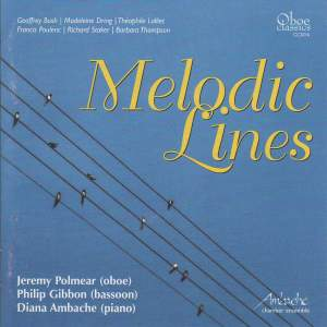Melodic Lines - Oboe, Bassoon & Piano