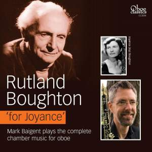 Rutland Boughton 'for Joyance'