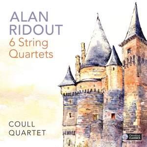 Alan Ridout: 6 String Quartets Product Image
