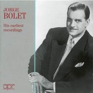Jorge Bolet: His earliest recordings