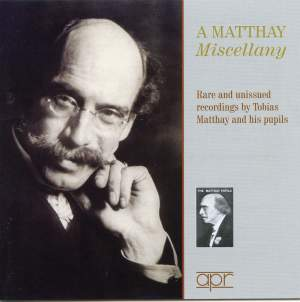 A Matthay Miscellany