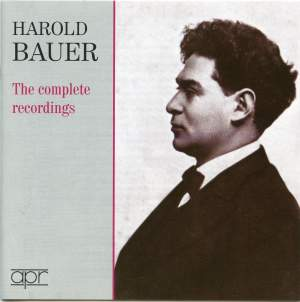 Harold Bauer - The Complete recordings
