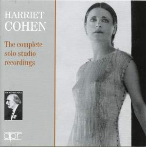 Harriet Cohen: Complete Solo Studio Recordings