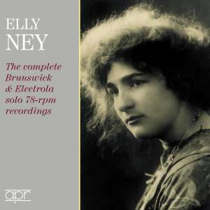 Elly Ney: The complete Brunswick & Electrola solo