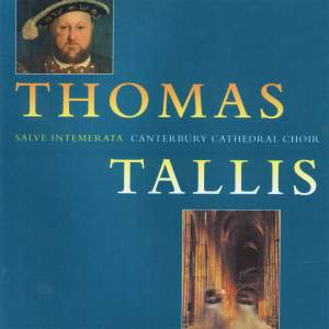 Tallis: The Canterbury Years