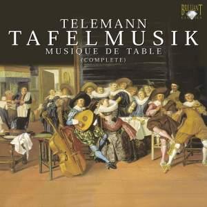 Telemann: Overture (Suite) TWV 55:E1 in E major for strings & b.c., etc.