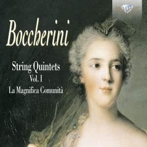 Boccherini - String Quintets Volume 1