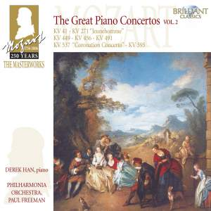 The Masterworks Of Mozart - The Great Piano Concertos Volume 2