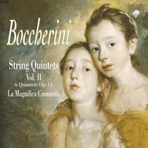 Boccherini - String Quintets Volume 2