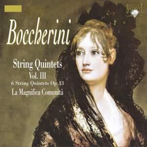 Boccherini - String Quintets Volume 3