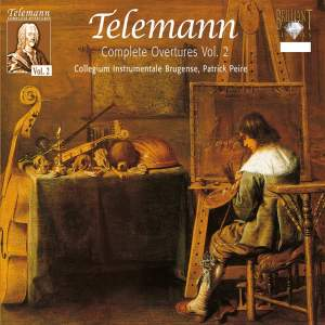 Telemann - Complete Overtures Volume 2