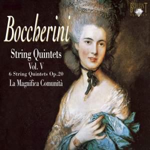 Boccherini - String Quintets Volume 5