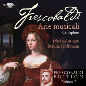 Frescobaldi Edition Volume 7 - Arie musicali