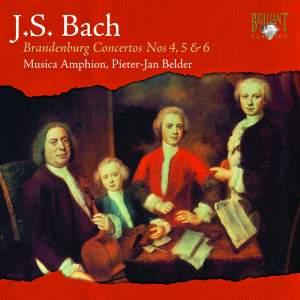 Bach - Brandenburg Concertos 4, 5 & 6