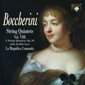 Boccherini - String Quintets Volume 8